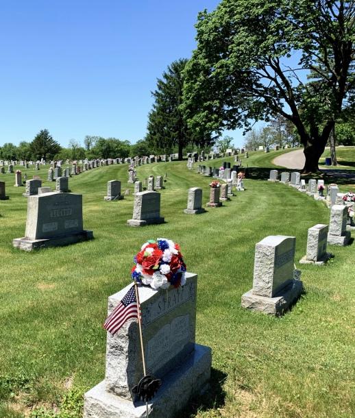 Norland Cemetery Hillside View